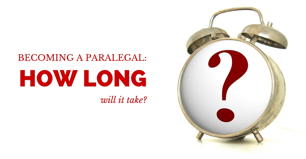 How long does it take to become a paralegal? - JWindow